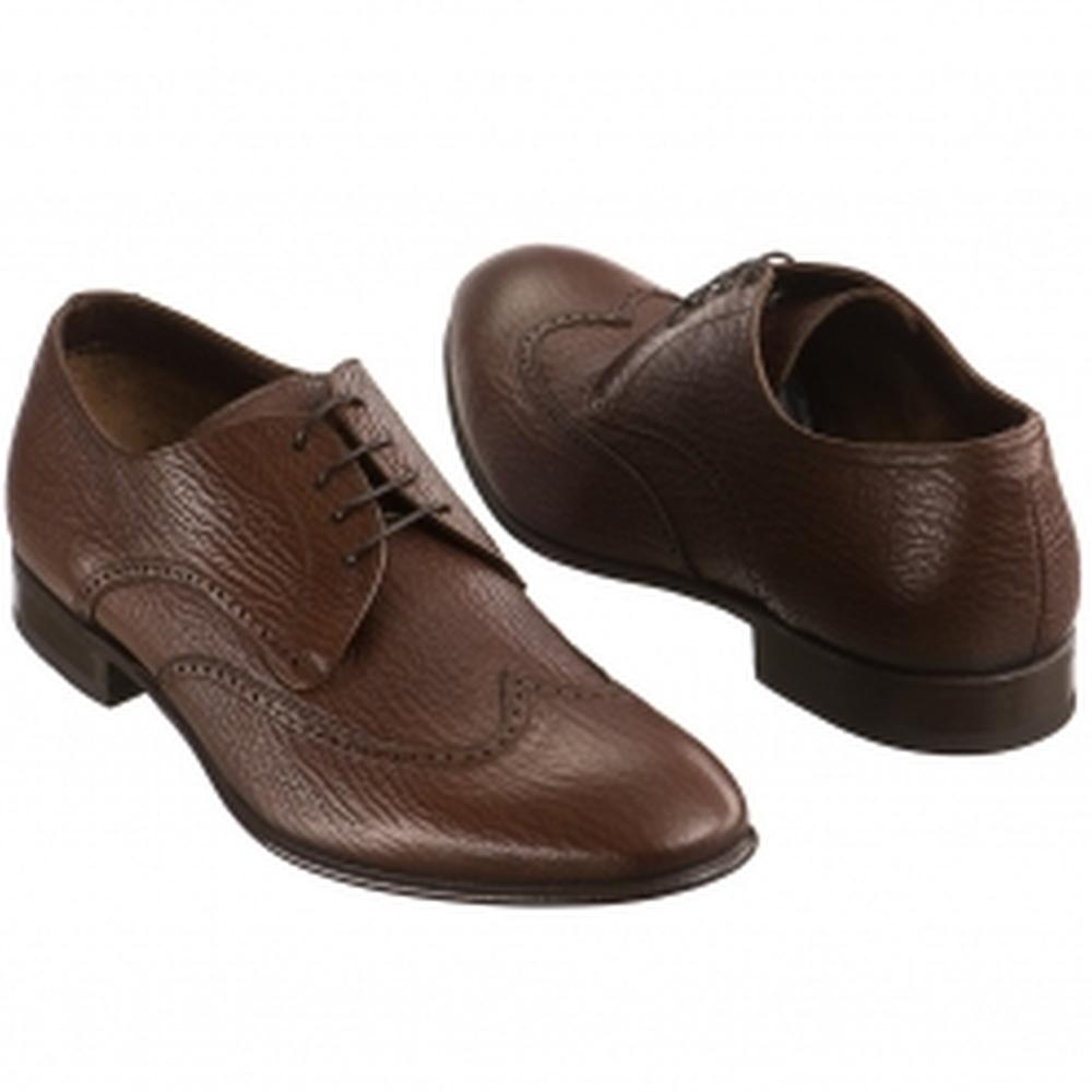 Др.Коффер 078905 св. коричн. ботинки мужские (41,5) фото