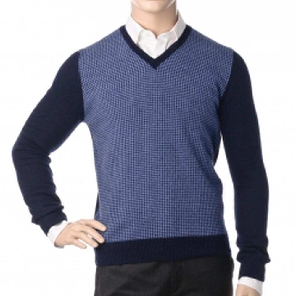 Др.Коффер 41617 синий пуловер (46 XS) фото