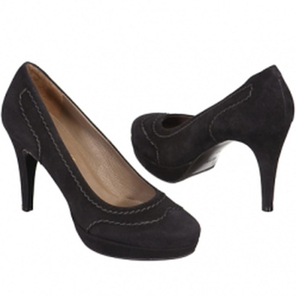Др.Коффер 5915 чёрные женские туфли (36) фото