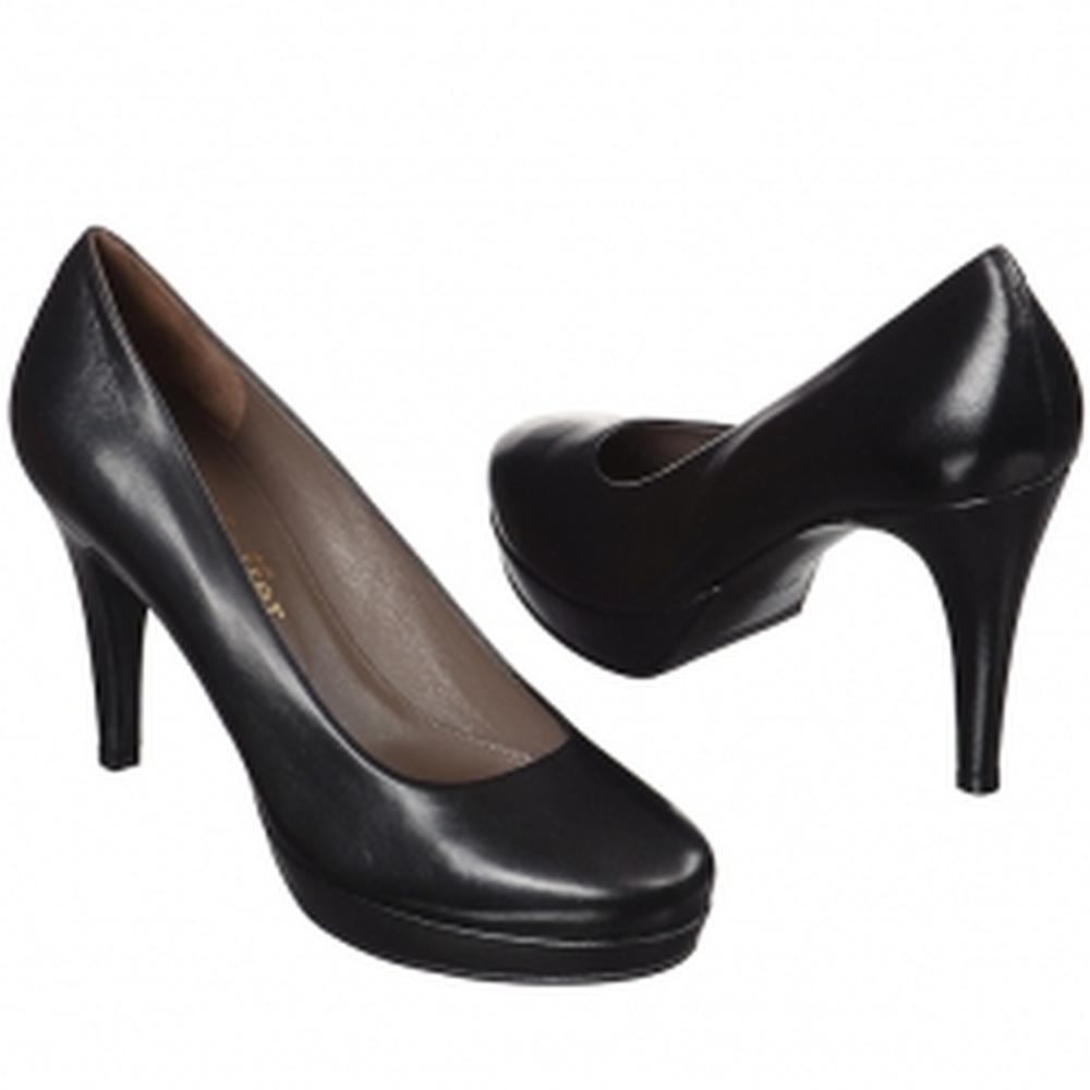 Др.Коффер 5913 чёрные женские туфли (40) фото