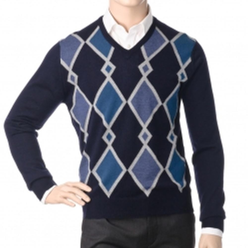 Др.Коффер 20601 синий пуловер (50 M) фото